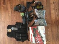 Tippmann A5 modified paintball kit