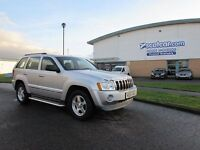 JEEP GRAND CHEROKEE 3.0 V6 CRD LIMITED REDUCED �300 5d AUTO 215 BHP 4x (silver) 2005