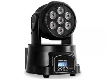 Party Light PARTY-WASH7 LED wash movinghead 7x 8W RGBW DMX