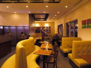 Restaurant Booths, Tables and Chairs
