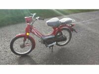 49cc Jailing Easyrider Moped * Fully road legal* Comes Moted