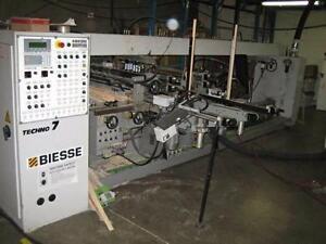 Biesse Techno 7 Feed Thru Drill Machine