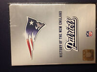 History of the New England Patriots 2 disc DVD set - Brand New