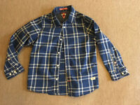 Boys scotch shrunk shirts age 6
