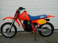 QUICK CASH for Old Dirt Bikes...Mid-80s to Mid-90s.