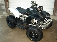 sport quad rolling chassis or blown engine sport quad