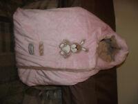 Pink Bunting Bag