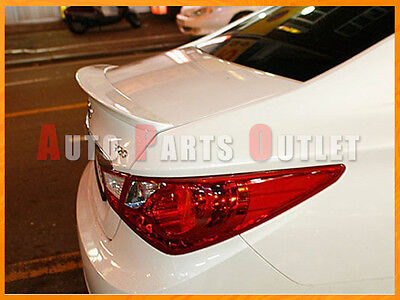 COMBO Painted Color For YF Sonata Sedan OE  Rear Roof Trunk Boot Wing Spoiler