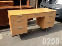 60S JOHN AND SYLVIA REID FINELINE CHEST OF DRAWERS SIDEBOARD BY STAG