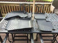 Weathertech Mercedes Benz C250/300 floor mats.