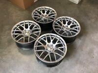 """19"""" Inch BMW STROM M359 Alloy wheels E90 E91 E92 E93 F10 F11 E60 E61 F30 F32 F36 3 4 5 series 5x120"""