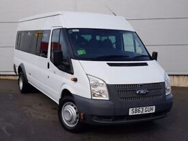 ARE YOU LOOKING TO HIRE A 16 SEATER MINIBUS WITH DRIVER? RELIABLE SERVICE, CALL US NOW