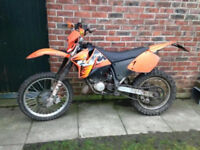 KTM EXC 125 sale or swap rapid
