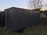 20ft storage container to let in secure yard Fenton st4 2pt