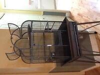 belle cage pour petit perroquet