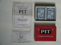 Vintage Parker Brothers Pit Card Game Bull & Bear Edition
