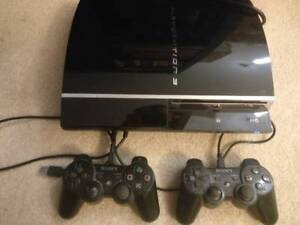 PlayStation 3 with Four Games