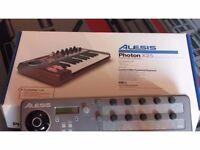 Alesis photon x25 midi studio keyboard