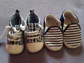 Baby boy shoe bundle - 6-9 months approx