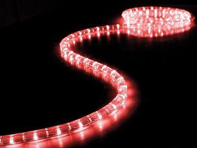 Guirnalda Luminosa Flexible Luminoso Rojo Ha Llevado 5m Etanche Decoración Noel