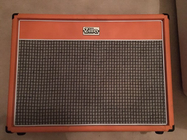 Zilla 2x12 Open Back Speaker Cabinet Boutique Orange Amp | in ...