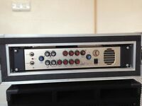 Eden WTP 600 Bass Amp Head with Flight Case