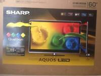 """60"""" SHARP AQUOS SMART LED TV    ( AS IS )"""
