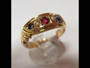 ### ANTIQUE VINTAGE LADIES GOLD PINKY RING FOR SALE...