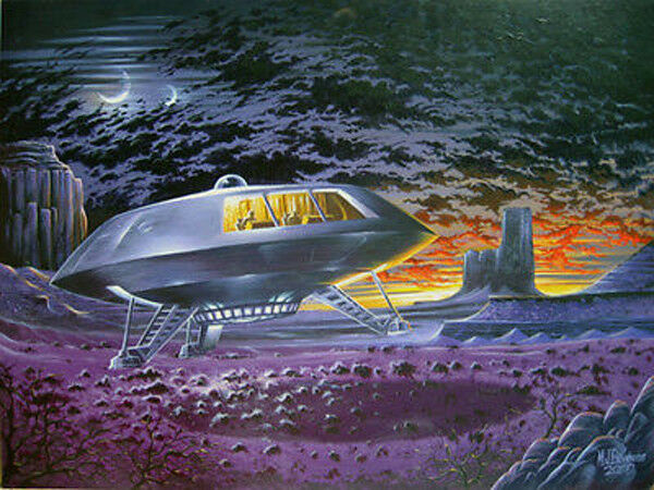 """LOST IN SPACE Poster- Jupiter 2- Mint Rolled 18""""x24""""-Out of Print-Warehouse Find"""