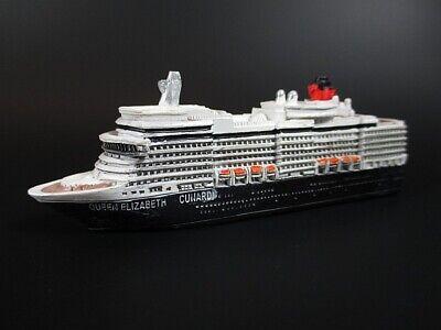 Schiff Modell Kreuzfahrtschiff  Queen Elisabeth,12 cm Polyresin Cruise Ship,NEU