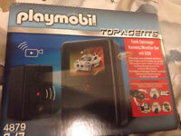NEW playmobil 4879 top agents camera