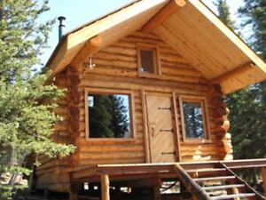 WANTED: Log Cabins for Clients-Summer & Winter Months