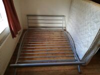Modern metal Double bed frame