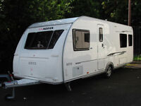 4-BERTH TOURING CARAVAN WITH TWIN FIXED BEDS