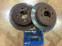 Ceramic pads and Rotors for 1988-2000 Hondas and Acura integras