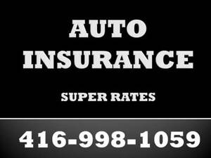 AUTO INSURANCE - ARE YOU PAYING TOO MUCH ? Call TODAY
