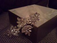 Richard design crystal side tiara