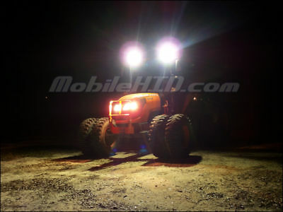 Tractor Hid Lights For Deere Kubota Case Cat - 512sw