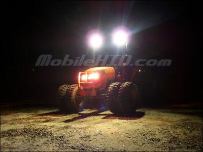 Tractor Hid Lights For Deere Kubota Case Cat - 512sw