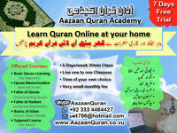 Learn Quran Online at home - Aazaan Quran Academy