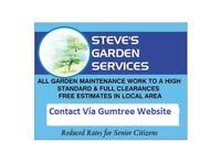 Steve's Garden Services