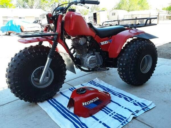 1985 Honda 200S Big Red ATC 3-Wheeler--Excellent condition!