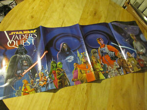 Star Wars Darth VADER'S QUEST Promo Poster 1999 Dark Horse