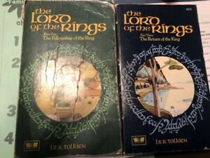 The Lord of Rings second Edition Part One and part 3 By unwin
