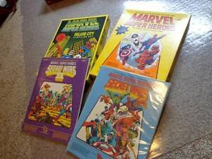 Marvel Role-Playing Game from the 1980s