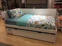 Trundle beds Ikea Flaxa White