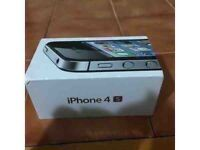Apple iphone 4S in mint condition for sale !! Unlocked 16 GB White colour