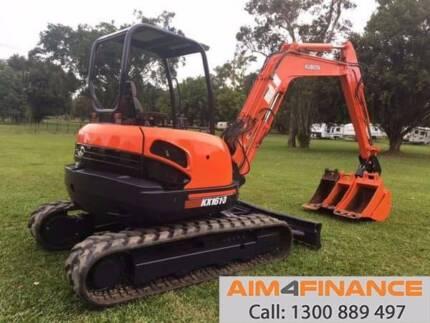 Kubota KX161 Kubota KX161-3 5 Ton Excavator Tracked-Excav