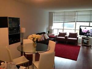 1 + Den in a luxurious condominium in Yorkville/Rosedale