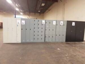 New/Used Lockers , Storage Cabinets , Shelving and Office Furn